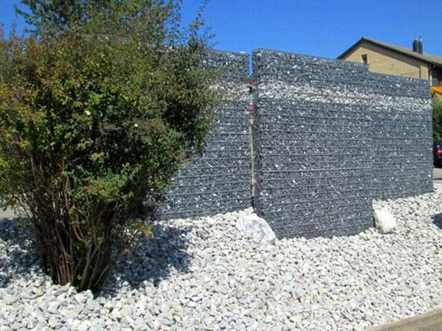 Mur de soutènement, gabions FlexiGab